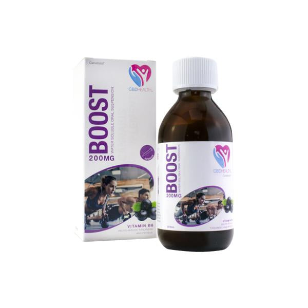 Canabidol Oral Suspension Boost 200mg CBD Oil 200ml-CBD Products-Canabidol-Grow Guru Ltd