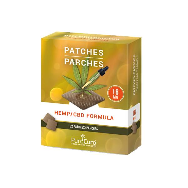 PuroCuro 16mg CBD Formula Patches-CBD Products-PuroCuro-Grow Guru Ltd