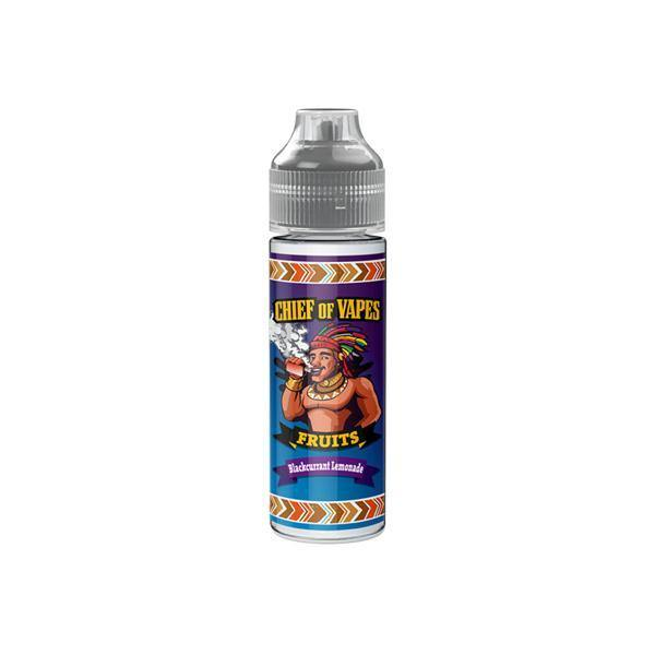 Chief of Fruits by Chief of Vapes 0mg 50ml Shortfill (70VG/30PG)-Vaping Products-Chief of Vapes-Blackcurrant Lemonade-Grow Guru Ltd