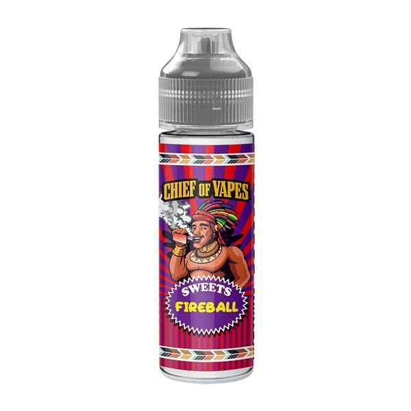 Chief of Sweets by Chief of Vapes 0mg 50ml Shortfill (70VG/30PG)-Vaping Products-Chief of Vapes-Fireball-Grow Guru Ltd