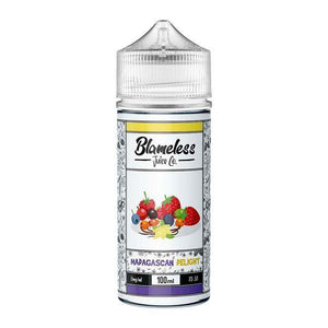 Blameless Juice Co. 100ml Shortfill 0mg (70VG/30PG)-Vaping Products-Blameless Juice co.-Grow Guru Ltd