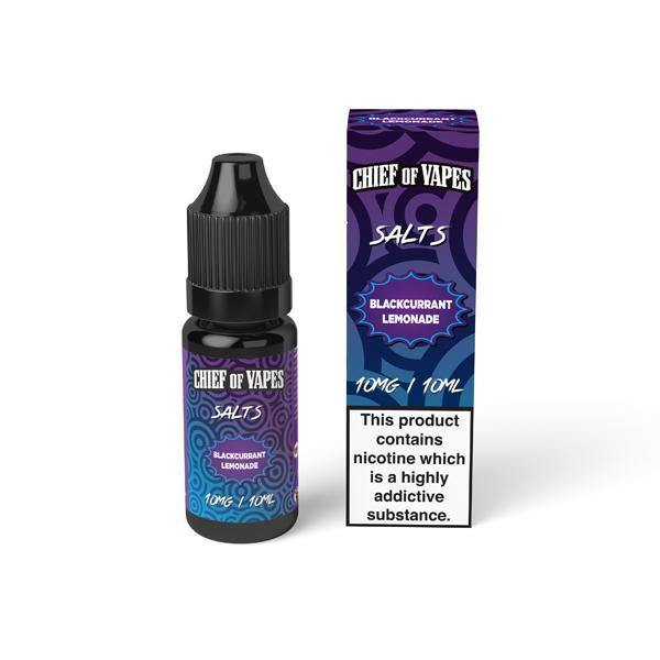 10mg Chief of Vapes Sweets Flavoured Nic Salt 10ml (50VG/50PG)-Vaping Products-Chief of Vapes-Grow Guru Ltd