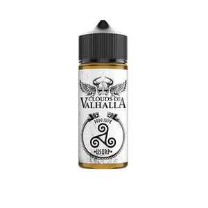 Clouds of Valhalla 100ml Shortfill 0mg (70VG/30VG)-Vaping Products-Clouds of Valhalla-Grow Guru Ltd