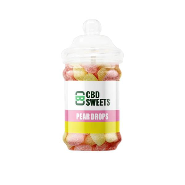 CBD Asylum 500mg CBD Sweets (Buy One Get One Free)-CBD Products-CBD Asylum-Pear Drops-Grow Guru Ltd