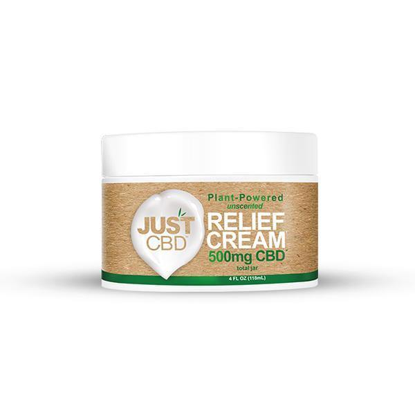 Just CBD Pain Relief Cream 500mg CBD-CBD Products-Just CBD-Grow Guru Ltd
