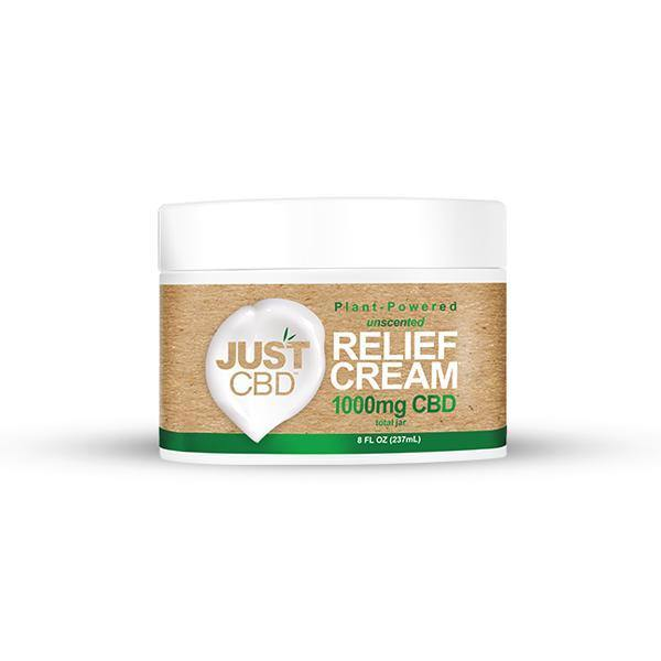 Just CBD Pain Relief Cream 1000mg CBD-CBD Products-Just CBD-Grow Guru Ltd