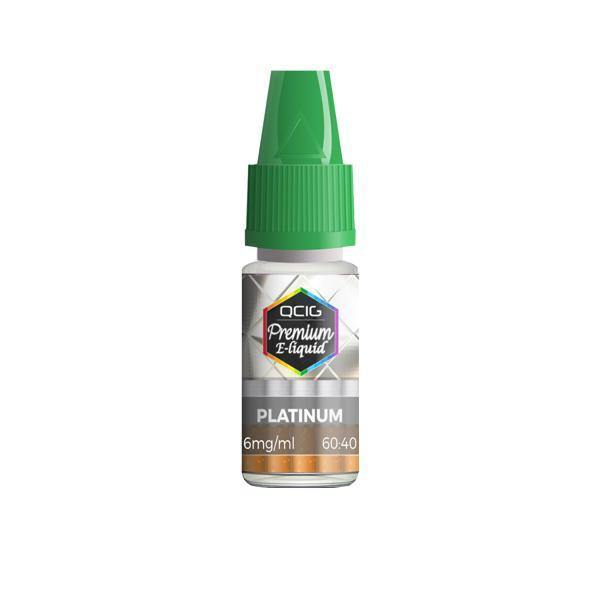 QCig Premium E-Liquids 10ml 3mg (60VG/40PG)-Vaping Products-QCig-Grow Guru Ltd