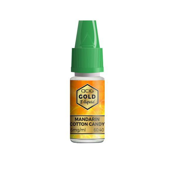 QCig Gold E-Liquids 10ml 18mg (60VG/40PG)-Vaping Products-QCig-Grow Guru Ltd