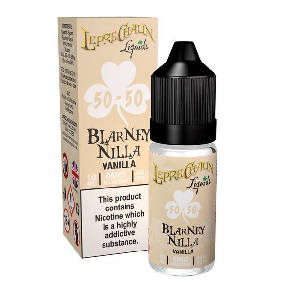 Leprechaun 50/50 Liquids 12mg 10ml (50VG/50PG)-Vaping Products-Leprechaun Liquids-Grow Guru Ltd