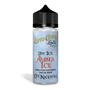 Leprechaun Dry Ice 120ml (100ml Shortfill + 2 x 10ml Nic Shots) (70VG/30PG)-Vaping Products-Leprechaun Liquids-Grow Guru Ltd
