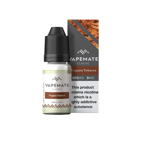Vapemate Classic 0mg 10ml E-Liquid (70VG/30PG)-Vaping Products-Vapemate-Grow Guru Ltd