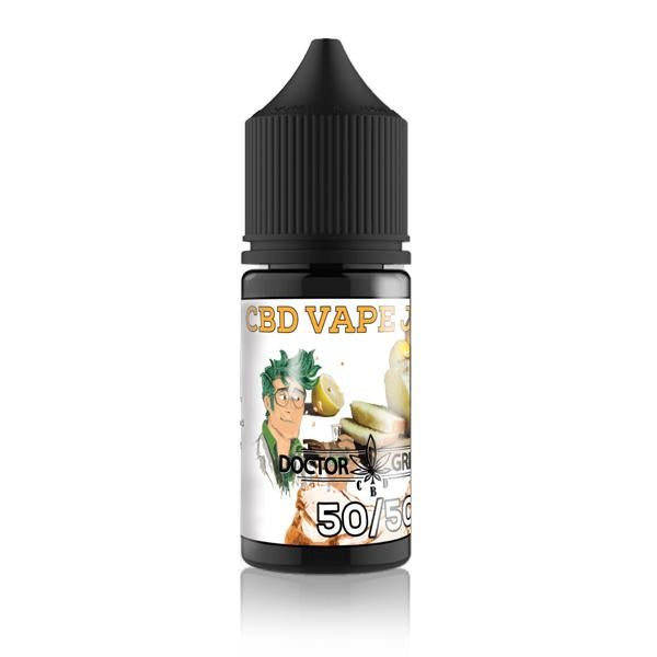 Doctor Green's 1000mg CBD + CBG Vape Juice 30ml-CBD Products-Doctor Green's-Lemon Drizzle-Grow Guru Ltd