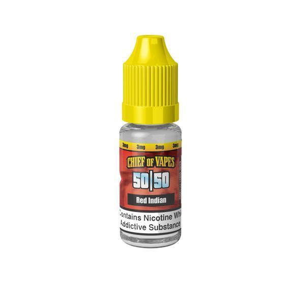 Chief of Vapes 18mg 10ML E-Liquids (50VG/50PG)-Vaping Products-Chief of Vapes-Red Indian-Grow Guru Ltd