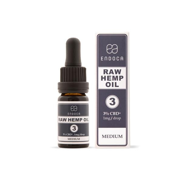 Endoca 300mg CBD+CBDa RAW Hemp Oil Drops 10ml-CBD Products-Endoca-Grow Guru Ltd