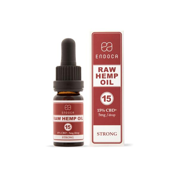 Endoca 1500mg CBD+CBDa RAW Hemp Oil Drops 10ml-CBD Products-Endoca-Grow Guru Ltd