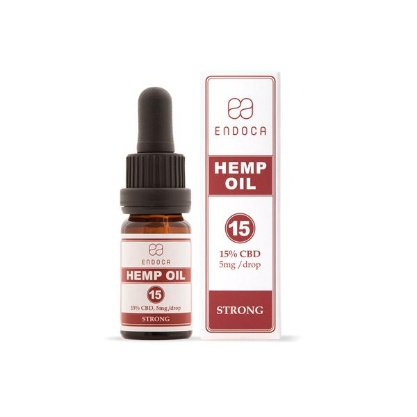 Endoca 1500mg Hemp Oil Drops 10ml-CBD Products-Endoca-Grow Guru Ltd