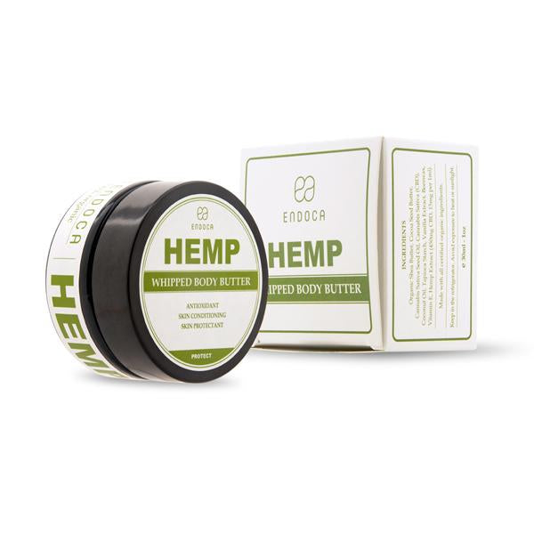 Endoca 450mg CBD Hemp Whipped Body Butter - 30ml-CBD Products-Endoca-Grow Guru Ltd