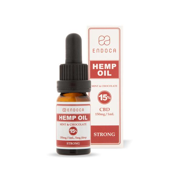 Endoca 1500mg CBD Hemp Oil Drops Mint & Chocolate - 10ml-CBD Products-Endoca-Grow Guru Ltd