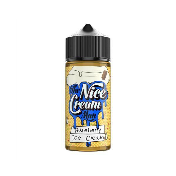 The Nice Cream Man 100ml Shortfill 0mg (70VG/30PG)-Vaping Products-UK Flavour-Grow Guru Ltd