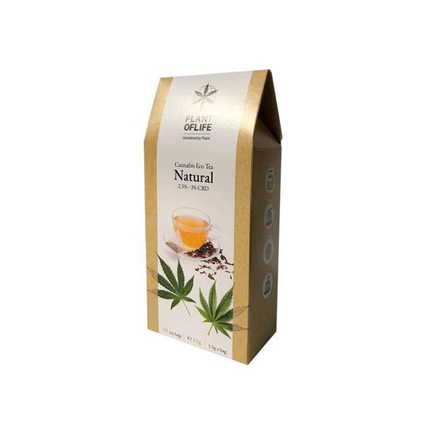 Plant Of Life Infusion 3% CBD Tea - Natural Hemp-CBD Products-Plant of Life-Grow Guru Ltd