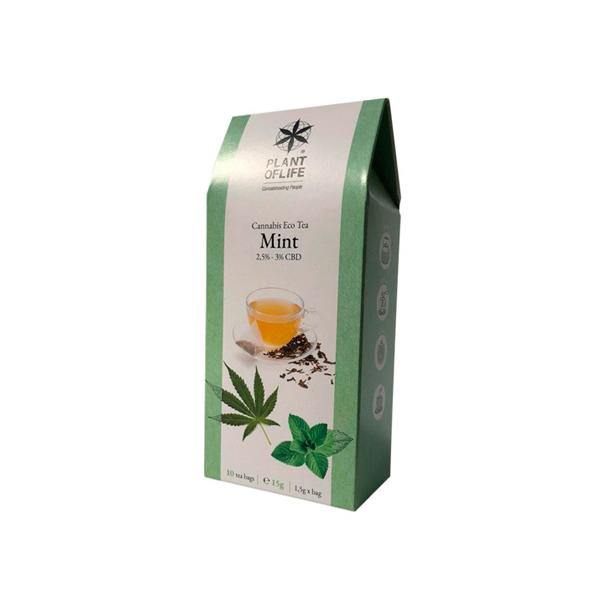 Plant Of Life Infusion 3% CBD Tea - Mint-CBD Products-Plant of Life-Grow Guru Ltd