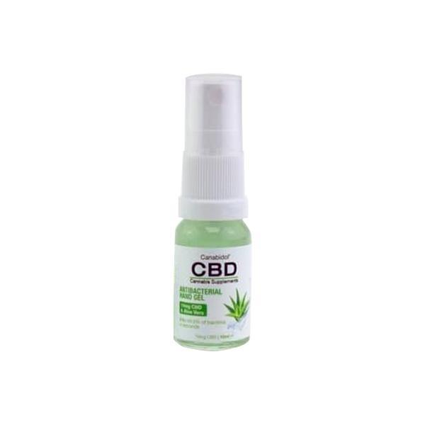 Canabidol CBD Antibacterial Hand Sanitiser 10ml-CBD Products-Canabidol-Grow Guru Ltd