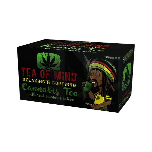 Cannabis Tea Of Mind (20 Sachets)-CBD Products-Euphoria-Grow Guru Ltd