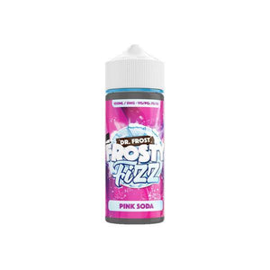 Dr Frost Frosty Fizz 0mg 100ml Shortfill (70VG/30PG)-Vaping Products-DR Frost-Grow Guru Ltd