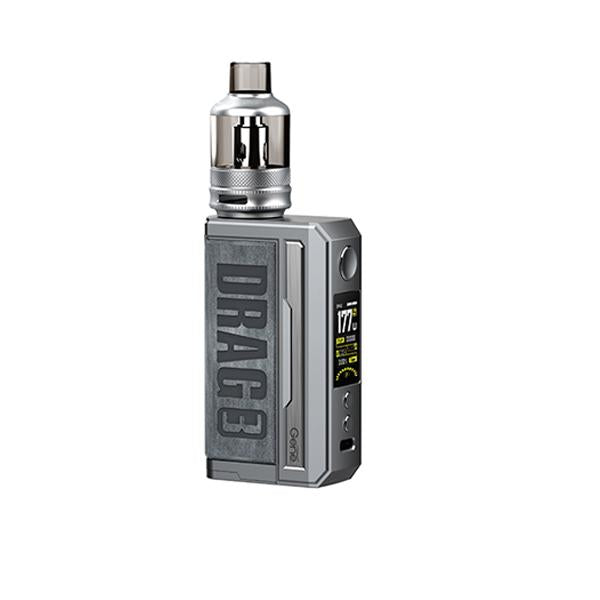 Voopoo Drag 3 Pod Kit-Vaping Products-Voopoo-Smoky Grey-Grow Guru Ltd
