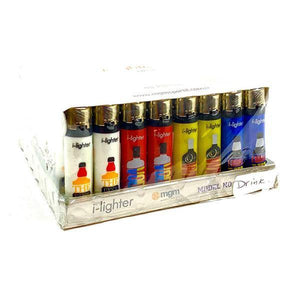 48 x I-Lighter Classic Flint Refillable Lighters - Y-220-Smoking Products-I-Lighter-Drink-Grow Guru Ltd
