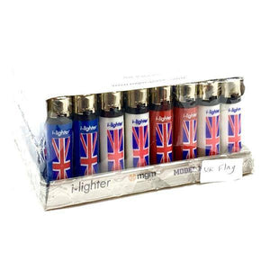48 x I-Lighter Classic Flint Refillable Lighters - Y-220-Smoking Products-I-Lighter-Grow Guru Ltd