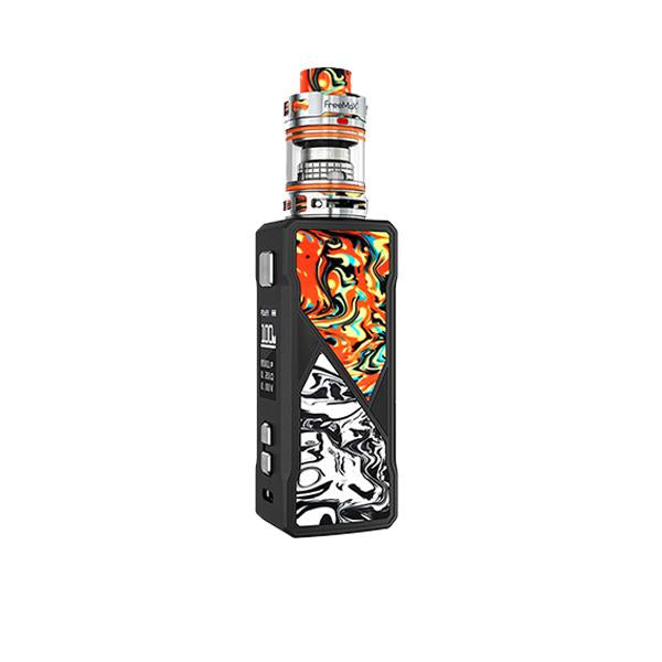 FreeMax Maxus 100W Kit-Vaping Products-FreeMax-Orange & Black-Grow Guru Ltd