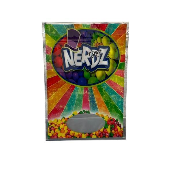 Printed Mylar Zip Bag 3.5g Large-Smoking Products-Unbranded-x1-Nerdz-Grow Guru Ltd