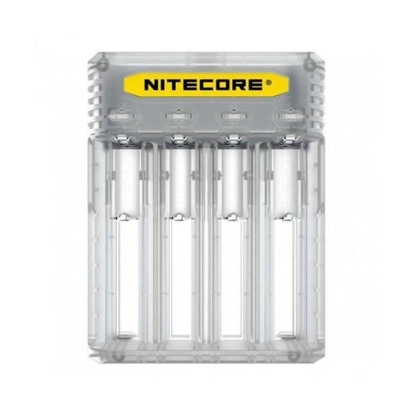 Nitecore New Q4 Charger -Black/Clear/Pink/Yellow-Vaping Products-Nitecore-Grow Guru Ltd