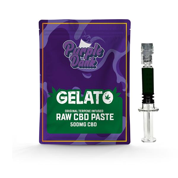 Purple Dank 1000mg CBD Raw Paste with Natural Terpenes - Gelato-CBD Products-Purple Dank-0.5g-Grow Guru Ltd