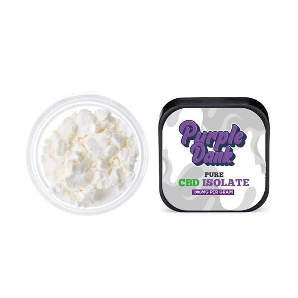 Purple Dank 1000mg Pure CBD Isolate-CBD Products-Purple Dank-0.5g-Grow Guru Ltd