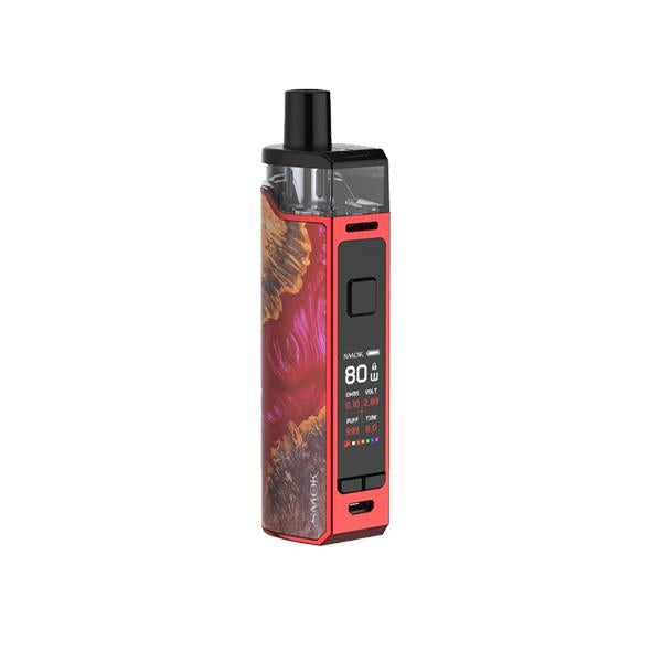 Smok RPM80 PRO Pod Kit-Vaping Products-Smok-Red Stabilizing Wood-Grow Guru Ltd