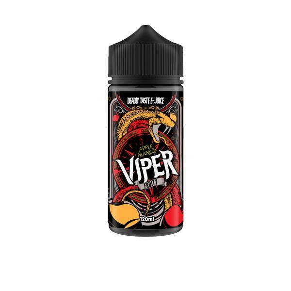 Viper Deadly Tastee E-Liquid 100ml Shortfill 0mg (70VG/30PG)-Vaping Products-Viper-Apple Mango-Grow Guru Ltd