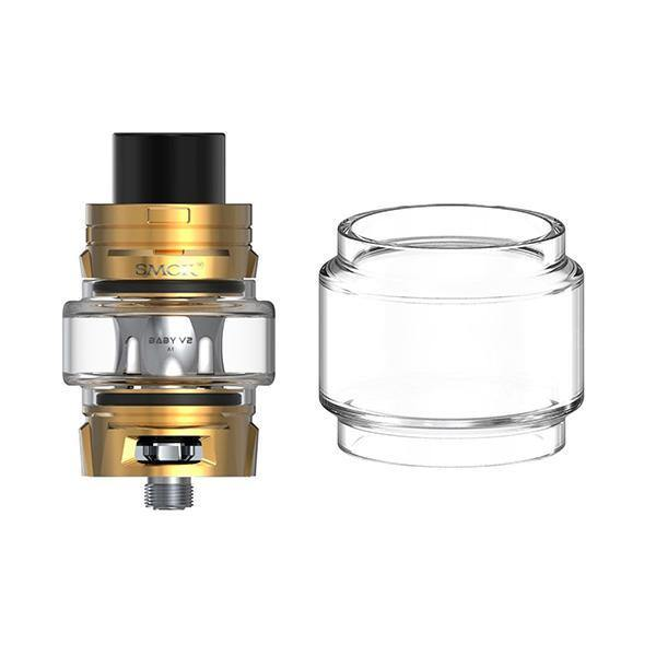 SMOK TFV8 Baby V2 Extended Replacement Glass-Vaping Products-Smok-Grow Guru Ltd