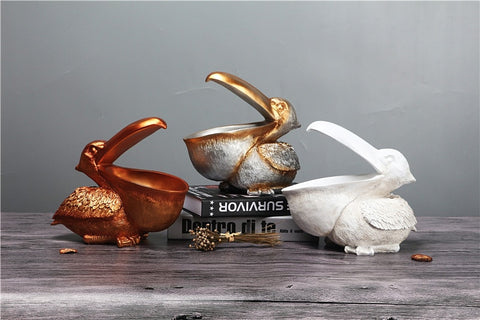 Ornaments | Pelican key holder figurine | Must-Have Home accessories