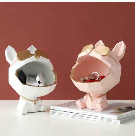 Ornaments | Cool dog with sunglasses | Storage box | Home accessories | Key holder