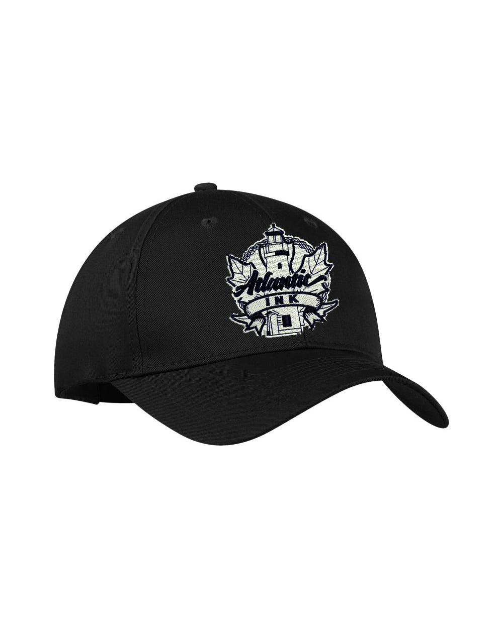 Embroidered Hat Black
