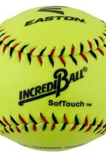 "EASTON INCREDI-BALL 11"" NEON SOFT TOUCH SOFTBALLS 