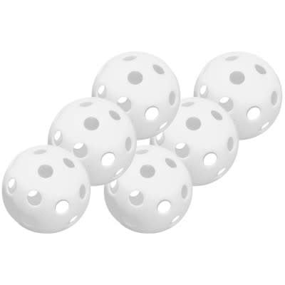 "9"" Plastic Training Ball - 6pk"