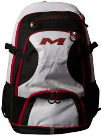 Miken Backpack - Black/White/Red