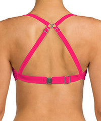 Swim Systems DREAMCATCHER AZALEA SHIRRED UNDERWIRE TOP G794