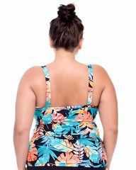 Sunsets Separates LORIKEET Plus Size Iconic Twist Tankini with Underwire 395