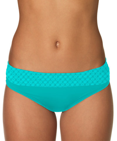 Sunsets NAUTICAL NET TROPICAL TEAL BANDED BOTTOM 27B