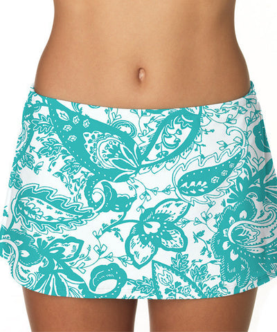 Sunsets PARKER PAISLEY CONTEMPORARY SKIRTED BOTTOM 36B