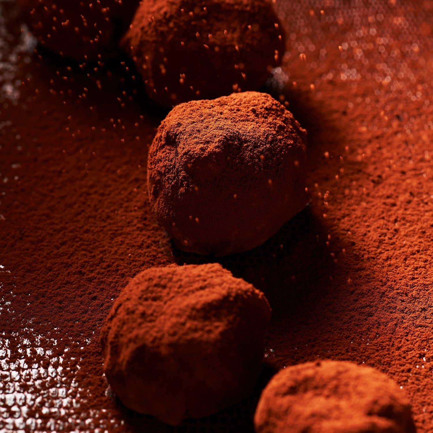 Collection image featuring chocolate bites.
